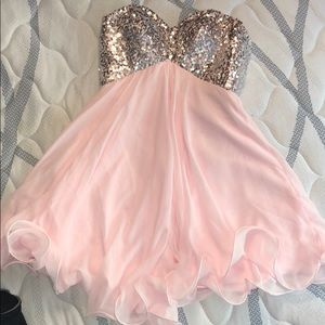 Dresses & Skirts - Homecoming Strapless Dress